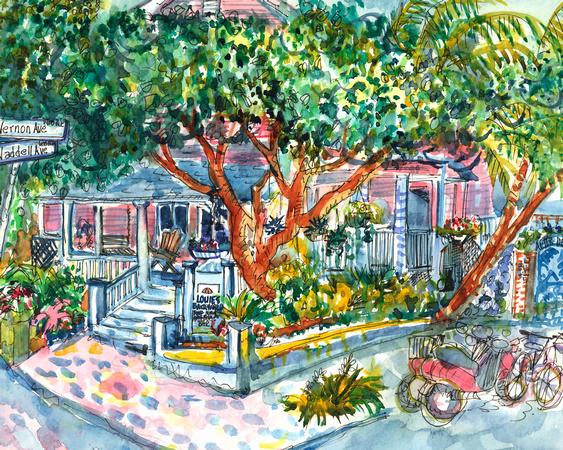 KOTTKE ARTS | Key West | Louies Backyard_